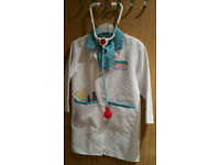 Girls Doctor Outfit 4-7 (FREE SIZED) £5