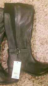 Brand new real leather boots size 6half