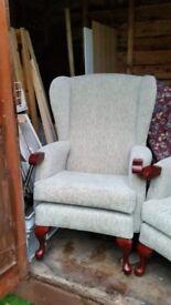 HSL High Back Armchairs