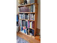 Solid pine bookcase bookshelves