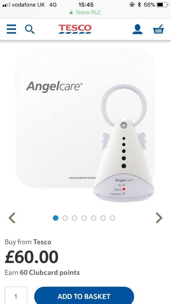 Angel baby monitor brand new in box never been used as we got bought one as a present