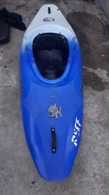 Pyranha Inazone 232 kayak with accessories