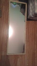 Wall hanging vintage mirror