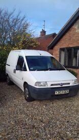Fiat Scudo Van. 1.9 Diesel non turbo engine