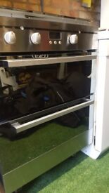 Indesit double oven for sale