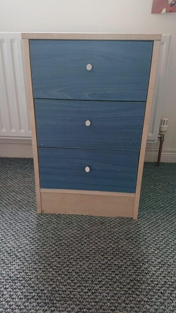 best service 71b08 6200c Argos Home Malibu 3 Drawer Bedside Chest - 3 available   in County Antrim    Gumtree