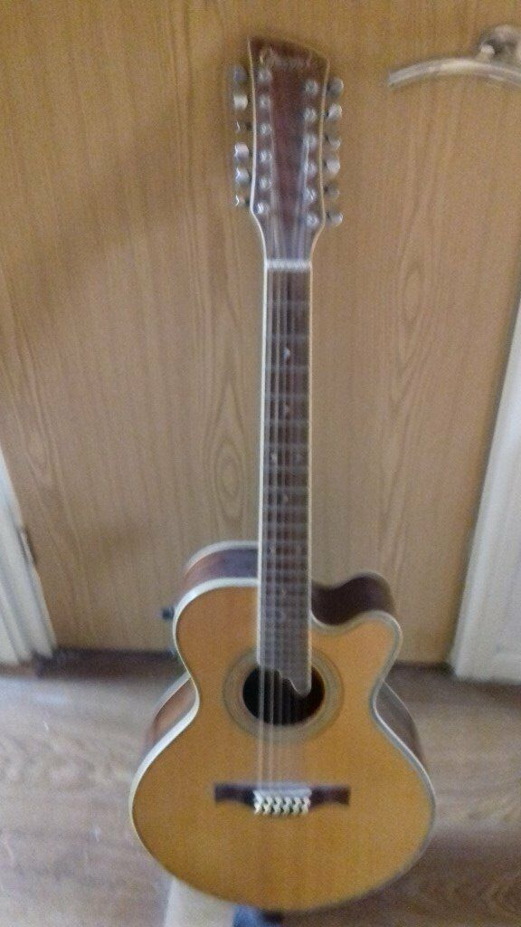 charvel 12 string acoustic electric guitar made in korea 90s in stoke on trent staffordshire. Black Bedroom Furniture Sets. Home Design Ideas