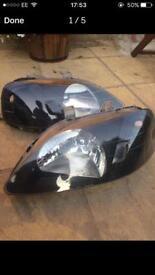 Honda civic facelift 99-00 headlamps