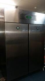 Catering double door foster iso1400 freezer