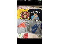4 boys tshirts
