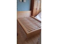 Ikea Bed frame (Birch Effect)