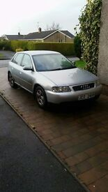 Audi a3 1.6 sline motd to mid june 500 for quick sale or swap