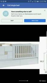 3 piece cot/single bed