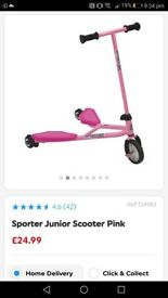 Sporter Junior Scooter Pink
