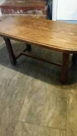 Small oak Coffee table