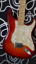Fender Stratocaster Deluxe 2010 model in Sienna Burst