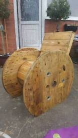Industrial cable reel chair