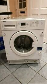 Beko WMI61241 Integrated 6.5kg Washing Machine