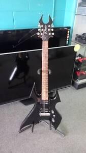 BC RICH Beast Bronze Series 6 String Electric Guitar - Black Acacia Ridge Brisbane South West Preview