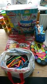 Children's art supplies