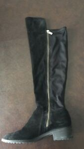 Michael kors suede knee high boots - size 7.5