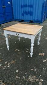 Beautiful Victorian dining table with cutlery drawer