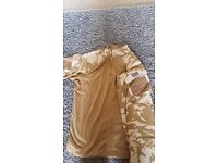 Genuine British Army Under Armour Ubac Desert - Large (Comes with comfort padding)