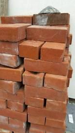 130 red bricks