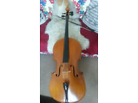 Beautiful 9/8 - smaller full size Cello for sale