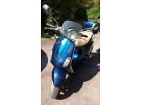 Beautiful, stylish limited edition vespa - v reliable and v good condition