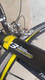 Felt bike frame and wheels 1.3 carbon fibre