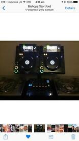 Pioneer CDJ 2000s plus dust covers and all leads