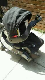 Graci carseat and base