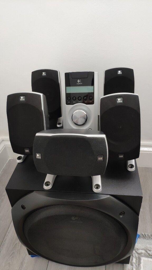 fc8fe52cf5f Logitech Z5500 - 5.1 THX Computer Speaker System | in Bromley ...