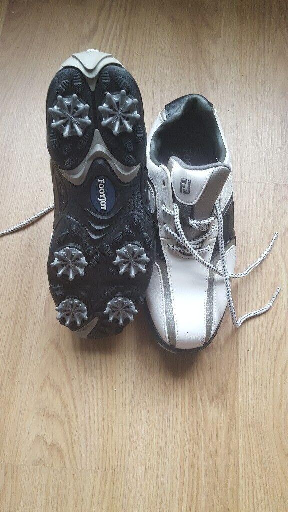 Footjoy junior size 3 golf shoes
