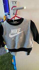 9-12 months Nike Tracksuit And trainers
