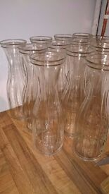 Wedding Decorations - Glass Karaffe's x 20