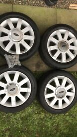 Alloy wheels - came off my 62 plate Ford Fiesta