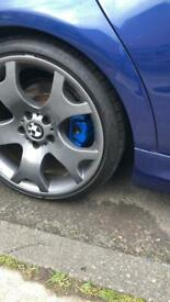 19inch bmw tiger claw alloys swap