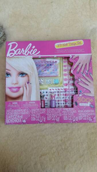 barbie 3d nail design set neu ovp in sachsen anhalt quedlinburg barbie spielzeug gebraucht. Black Bedroom Furniture Sets. Home Design Ideas