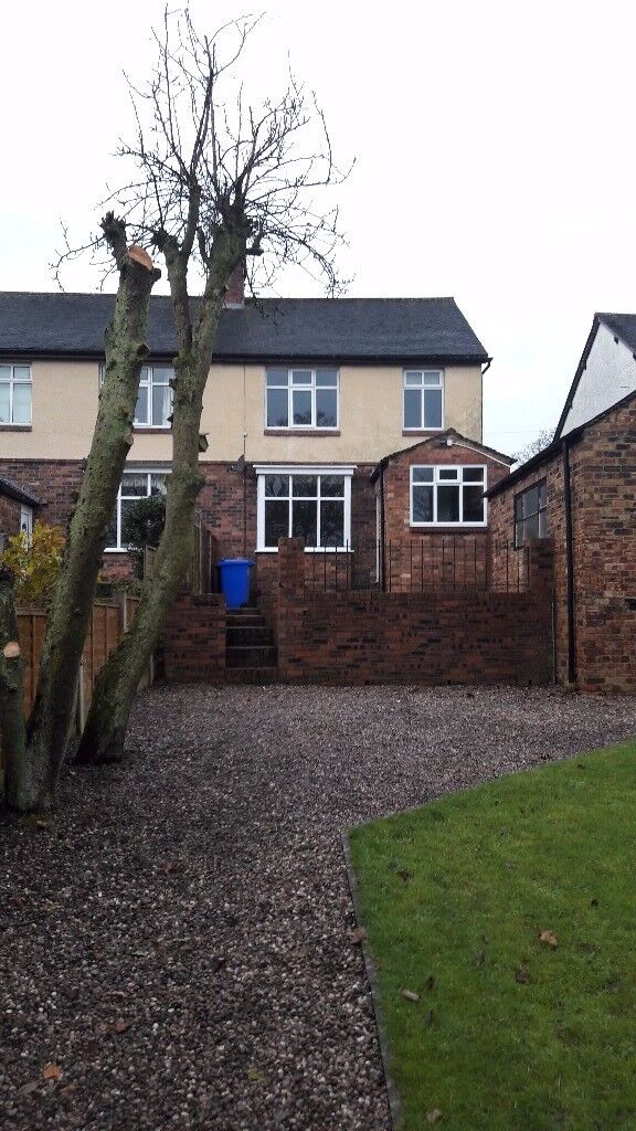 3 bed roomed refurbished home with large garden