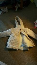 Baby items, bag, coat, pram