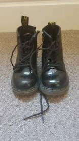Infant size 6 doc martins