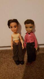 2 rare Bratz boy dolls- Cameron Dylan