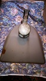 huge 150-60s forecourt factory lamp shade. for quirky industrial lamps shade.