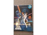 Star Wars 3D poster new