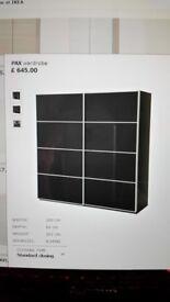 IKEA PAX WARDROBE WITH SLIDING DOOR