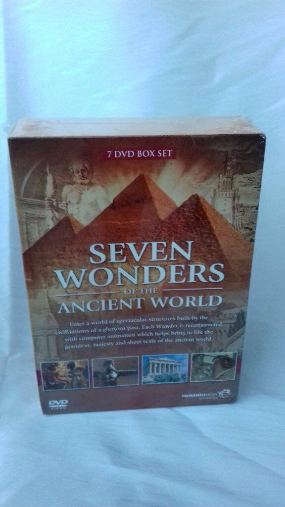 Seven wonders of the Ancient World 7 DVDs boxed and sealed