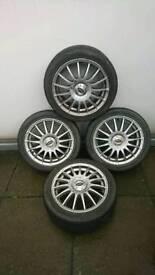 """Team dynamics 15"""" alloy wheels"""