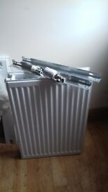 Double radiator 6 months old ready to be put on wall.Rad size 500x700.